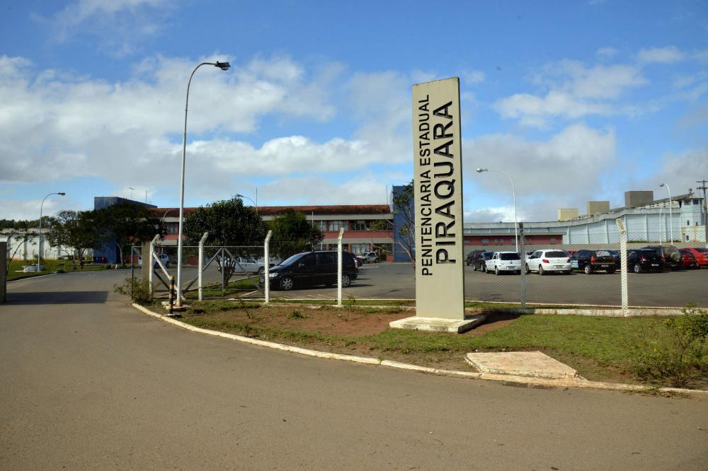 Fachada da Penitenciaria Estadual de Piraquara.Piraquara,17/09/2014. Foto – Antonio Costa