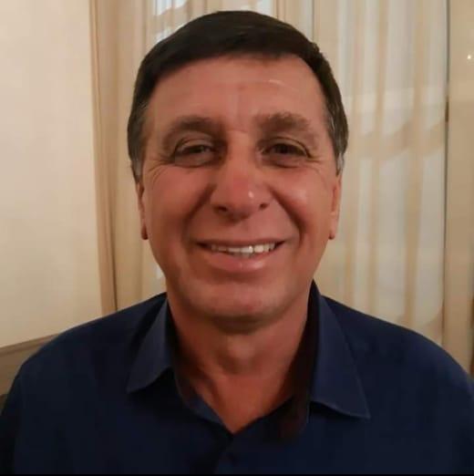 Prefeito de Guapirama Pedro de Oliveira (MDB)
