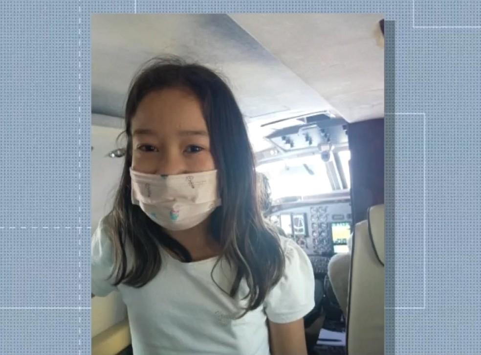 Menina de 11 anos recebe ajuda de militares para viajar e fazer transplante de rim no PR: 'presente de aniversário'