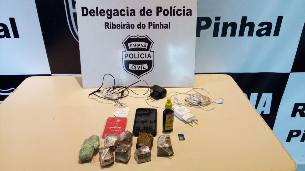 Ação da Polícia Civil apreende drogas em Ribeirão do Pinhal
